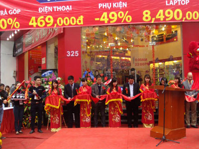Le khai truong FPT Retail shop dau tien tai Ninh Binh