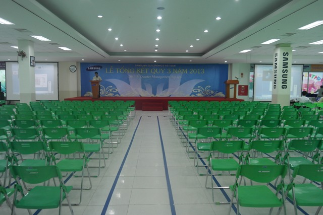 Le tong ket quy 3 nam 2013 cong ty Sam Sung Electronics Viet Nam