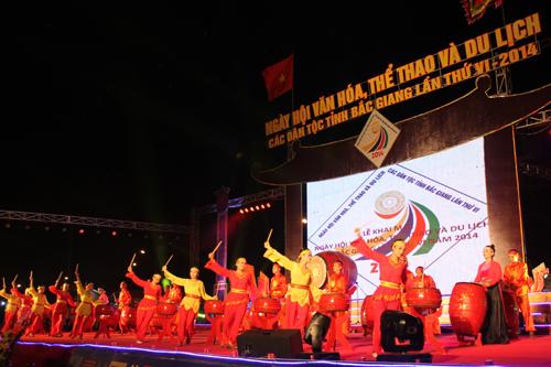 Le Khai mac Ngay hoi VHTTDL cac dan toc tinh Bac Giang lan thu VI-nam 2014