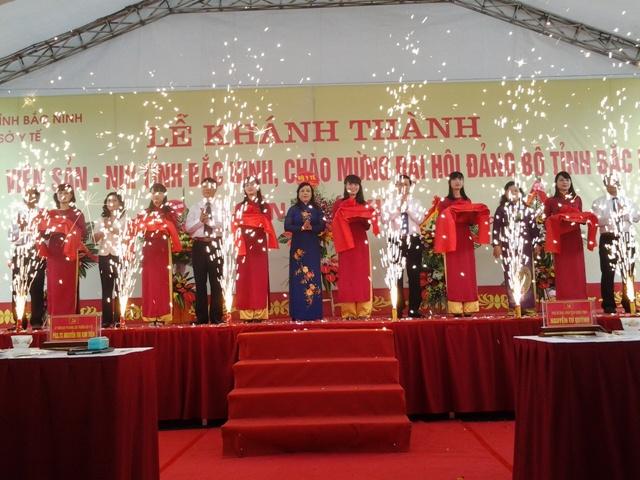 Le Khanh thanh Benh vien San nhi Bac Ninh