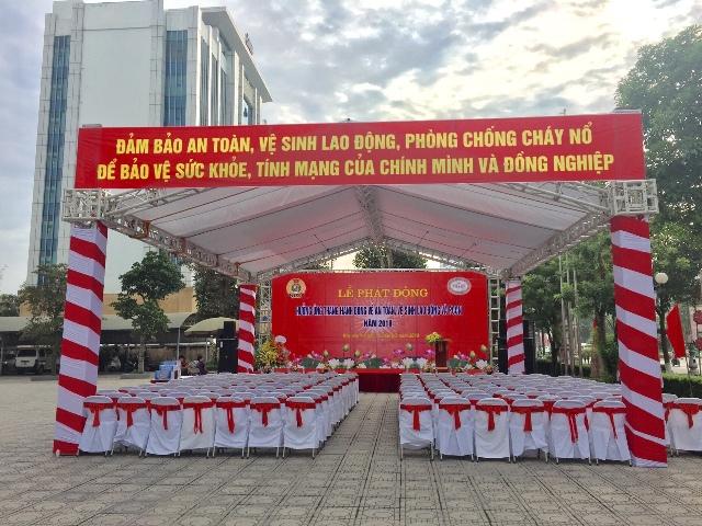 Le phat dong Huong ung thang hanh dong ve an toan ve sinh lao dong va PCCN nam 2018