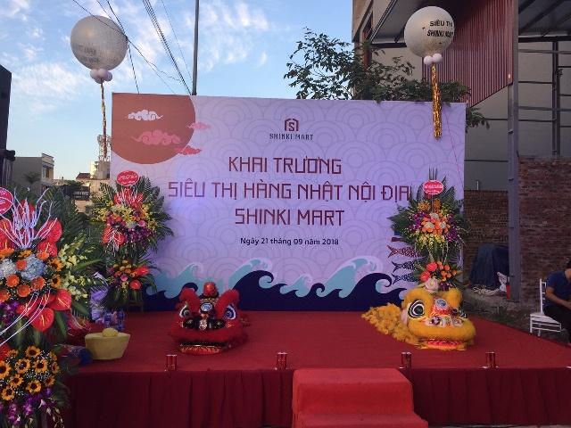 Le khai truong Sieu thi Hang Nhat Noi dia Sinki Mart