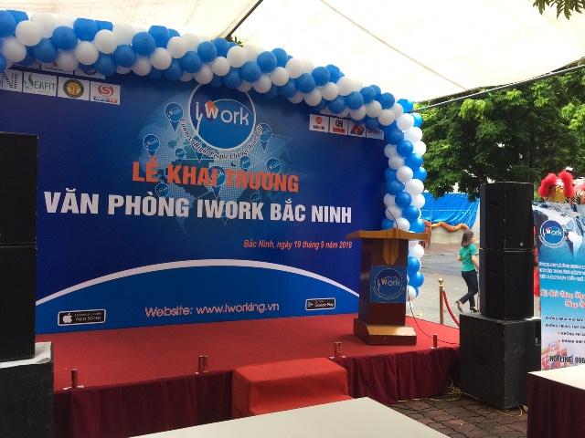 Le khai truong Van phong IWORK Bac Ninh