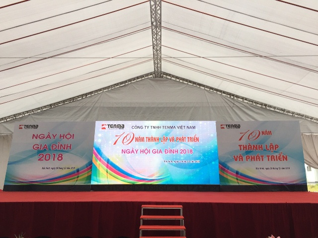 10 nam Thanh lap va Phat trien Ngay hoi gia dinh nam 2018 Cong ty TNHH Tenma Viet Nam