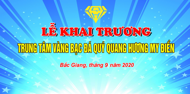 Le khai truong Trung tam vang bac da quy Quang Huong My Dien