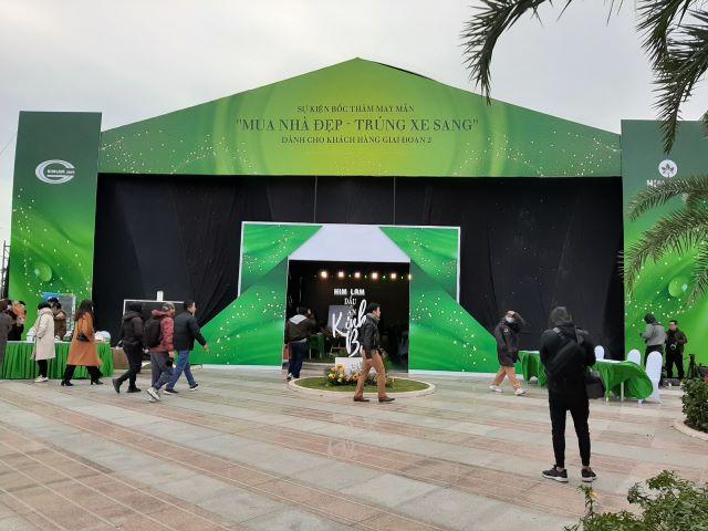 Le boc tham may man nam 2020 Him Lam Dau An Kinh Bac Tri An khach hang tai Khu Do Thi Him Lam Green Park Bac Ninh